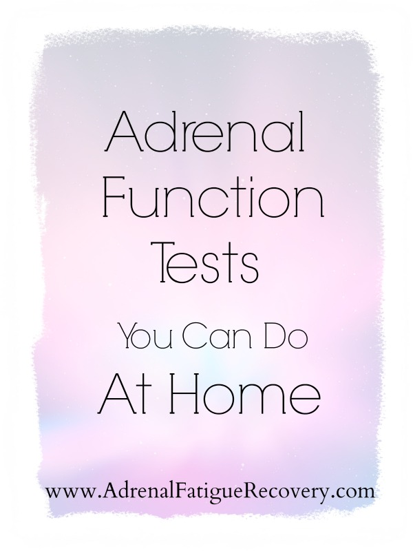 adrenal function tests